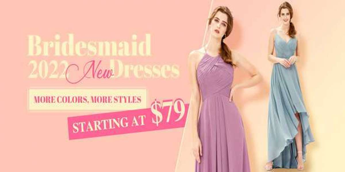 """Say \""""Yes\"""" To The Pink V-Neck Bridesmaid Dress!"""